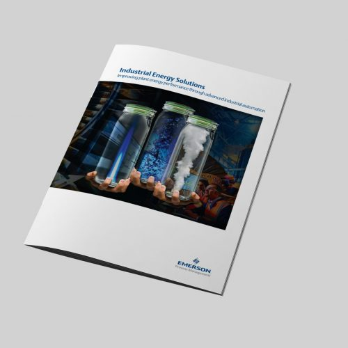 Emerson Industrial Energy Solutions A4 brochure cover